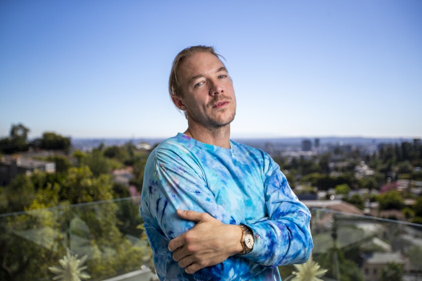 LOS ANGELES, CALIF. -- THURSDAY, OCTOBER 18, 2018: DJ and record producer Diplo, also known as Thom