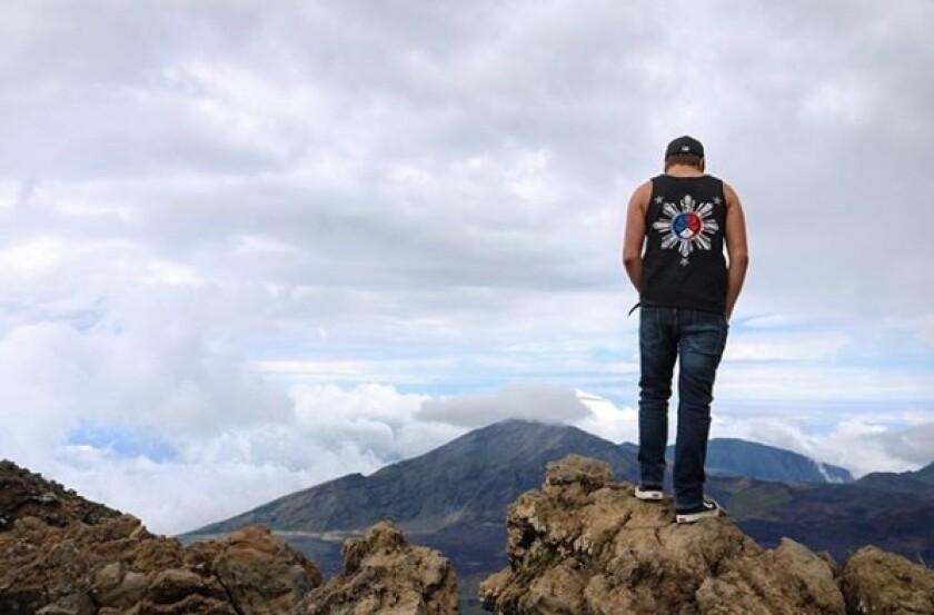 Joey Toczylowski at Halekalea summit over 10,000 feet.jpg