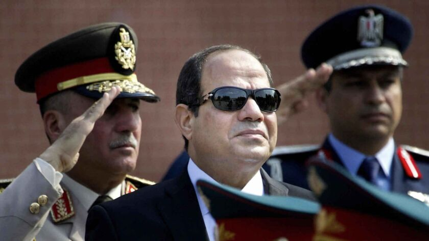 Egyptian President Abdel Fattah Sisi has cracked down on critical media while running for reelection.