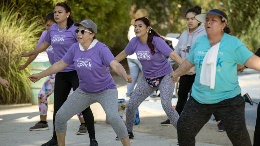 Free exercise classes in the West Adams area organized by Cedars-Sinai Credit - Cedars-Sinai