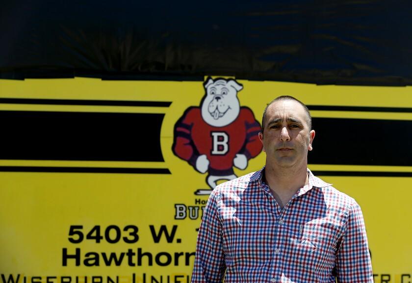Wiseburn Unified School District Supt. Blake Silvers