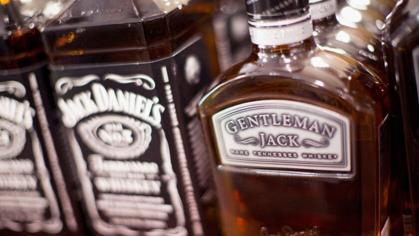 Big whiskey brands like Jack Daniels can absorb the additional costs of tariffs. Smaller companies can't.