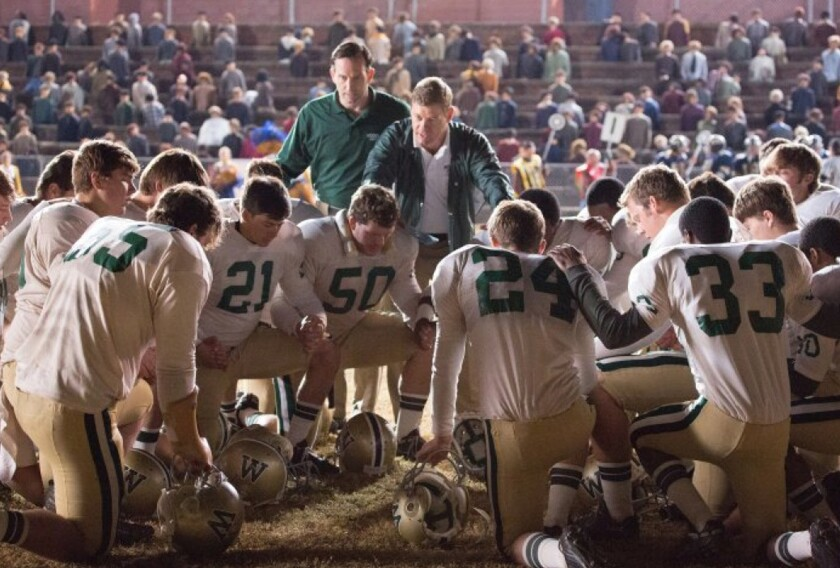 """""""Woodlawn"""" is a Christian sports drama directed by brothers Jon and Andrew Erwin."""
