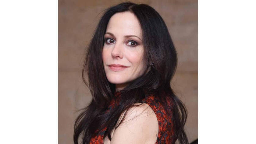 Actress-author Mary-Louise Parker.