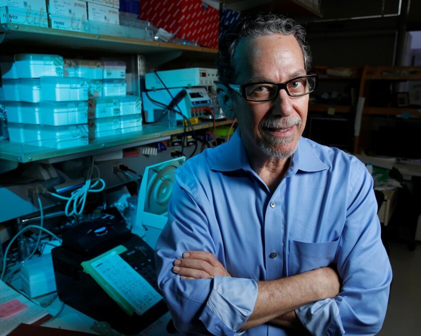 CA. Ron Evans is a Salk Institute scientist who led a major research study about a potential new diabetes therapy. Evans, has found that a well-known protein could provide a powerful new therapy for Type 2 diabetes. The protein resensitizes patients to insulin who have developed insulin resistance.