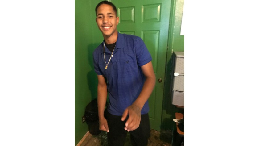 Deputies shot and killed Anthony Weber, 16, during a foot chase Sunday evening. They said they spott