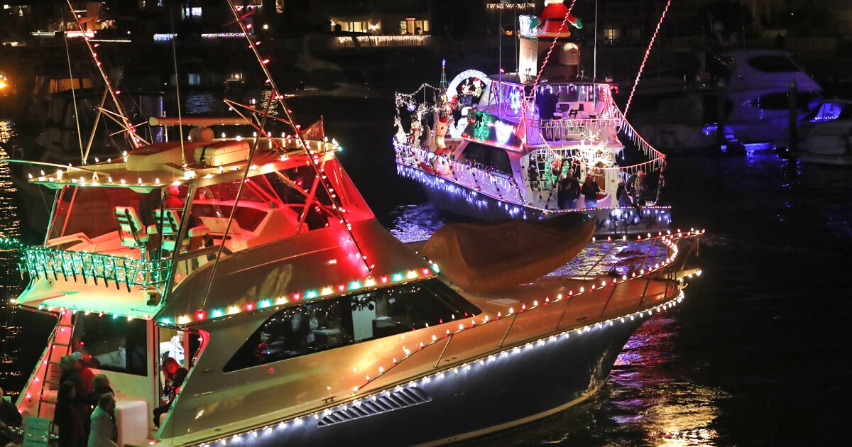 Boats to rock around Newport Harbor for this year's Newport Beach Christmas Boat Parade
