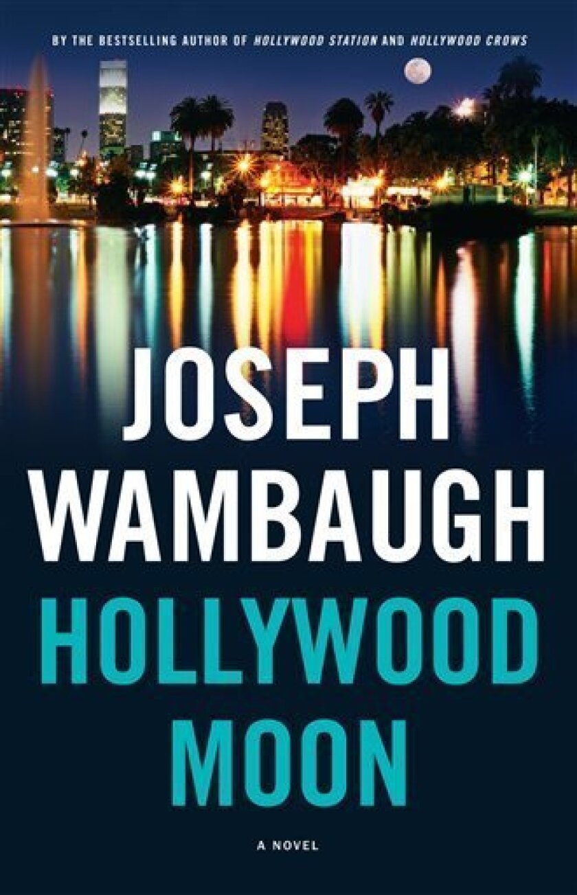 """In this book cover image released by Little, Brown & Co., """"Hollywood Moon,"""" by Joseph Wambaugh is shown. (AP Photo/Little, Brown & Co. )"""
