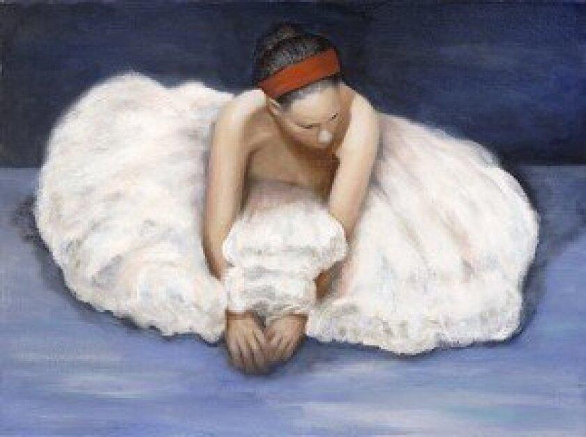 """The Dancer"" —  Oil  by Jay Johansen"