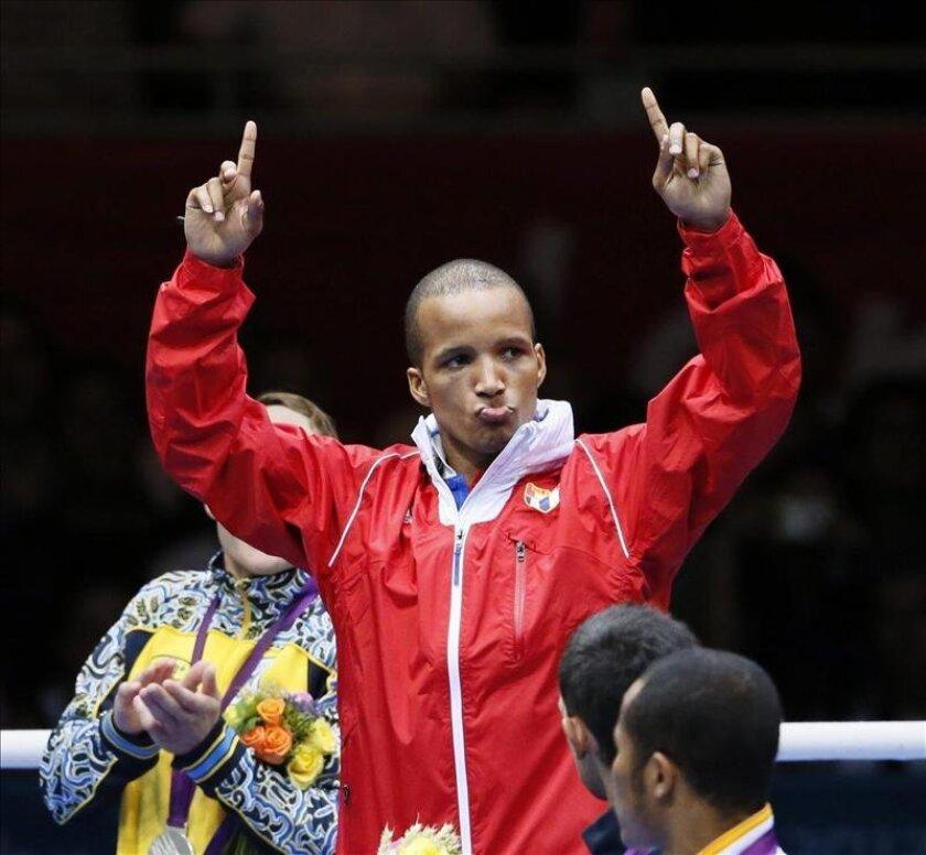 El boxeador cubano Roniel Iglesias Sotolongo. EFE/Archivo