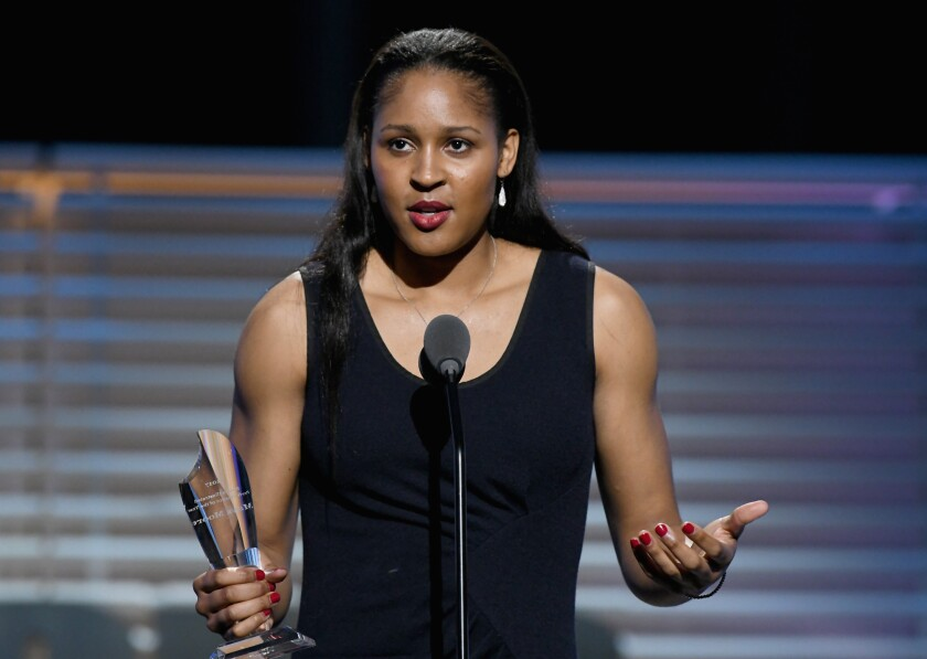 Since stepping away from basketball in the prime of her WNBA career, Maya Moore has been a tireless advocate for criminal justice reform.