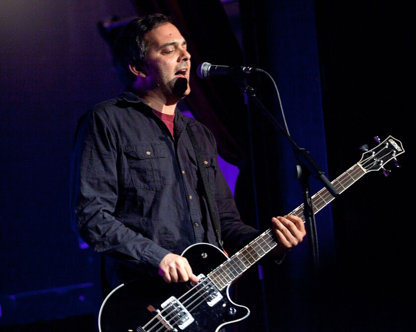 Adam Schlesinger of Fountains of Wayne has been hospitalized for about a week.