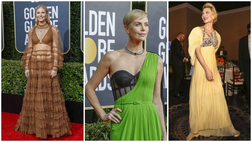 Underwear as outerwear at the 2020 Golden Globes