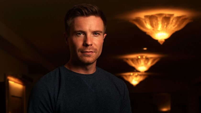 Joe Dempsie at the Montage Hotel in Beverly Hills.