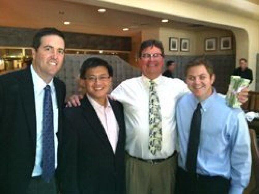 (L-R) William Jones , John Chiang, Jonathon Webster, James Dempsey