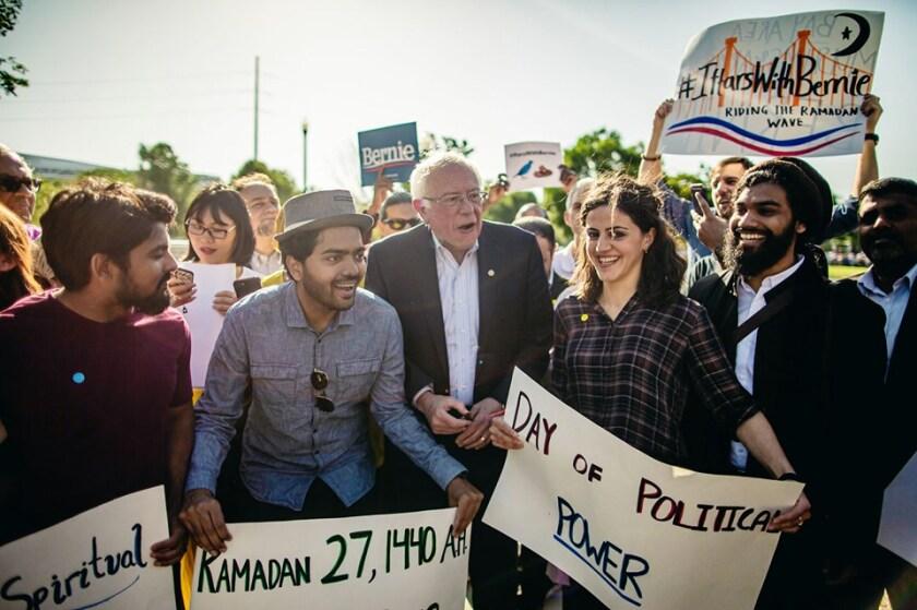 Bay Area muslims for Bernie