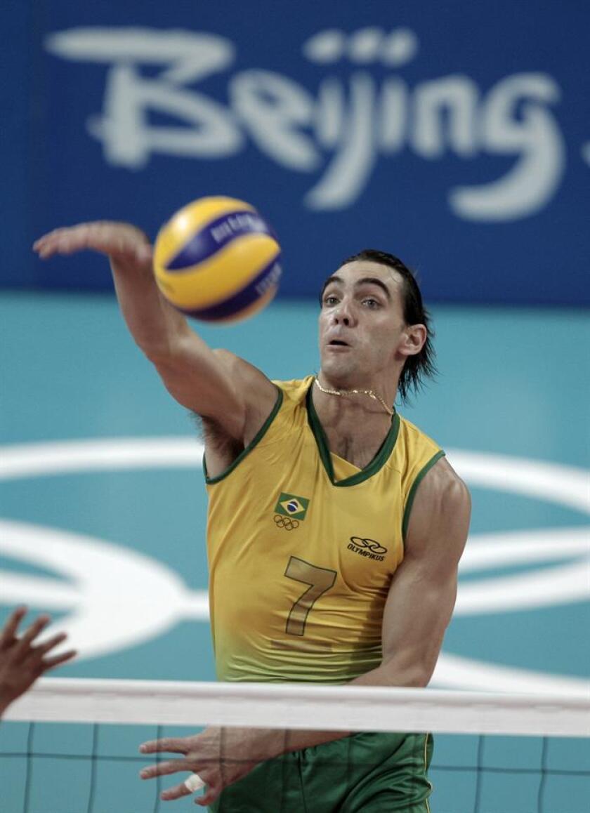 El exjugador de voleibol Gilberto Godoy Filho. EFE/Archivo