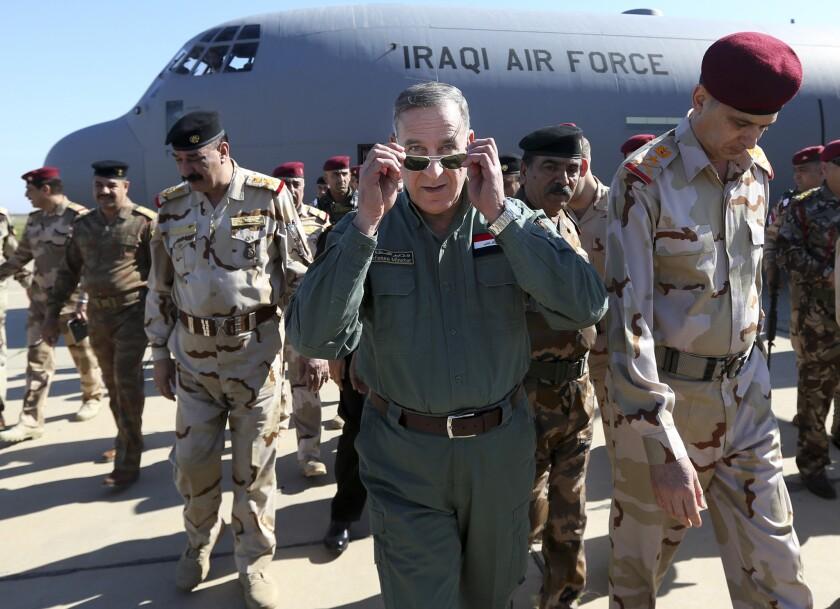 "Iraqi Defense Minister Khaled al-Obeidi said Islamic State lacks ""chemical capabilities."""