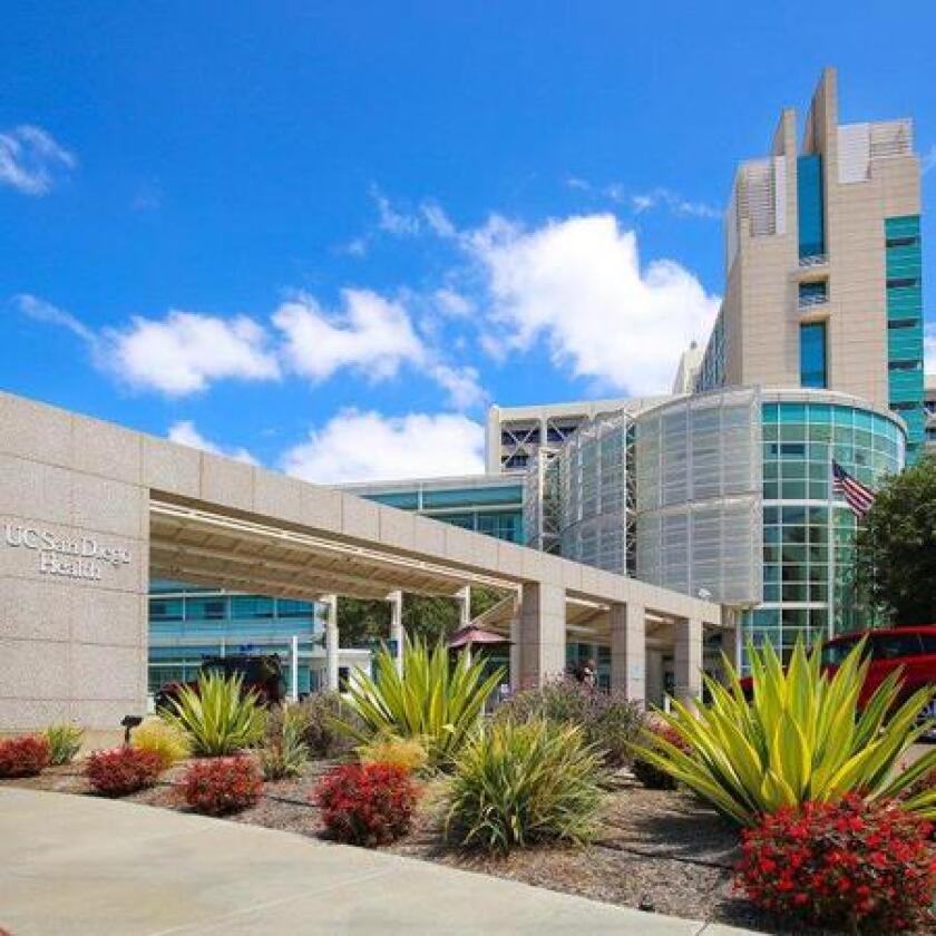 UC San Diego Health's medical campus in Hillcrest.