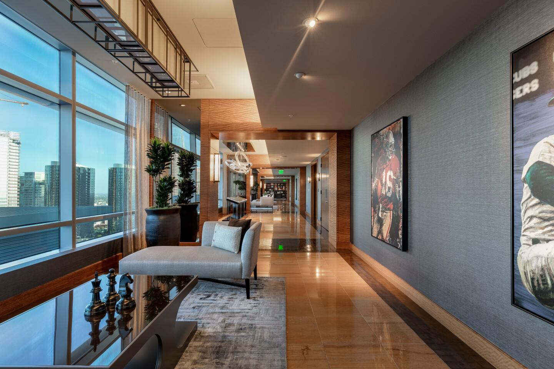 Jim Buss' L.A. Live penthouse
