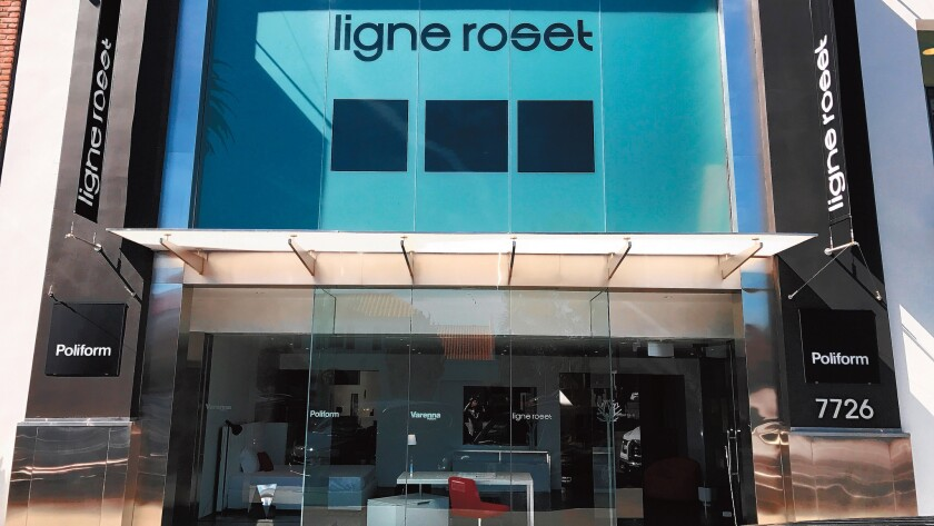 Ligne Roset & Poliform La Jolla sits at 7726 Girard Ave. in La Jolla. (858) 876-2138.
