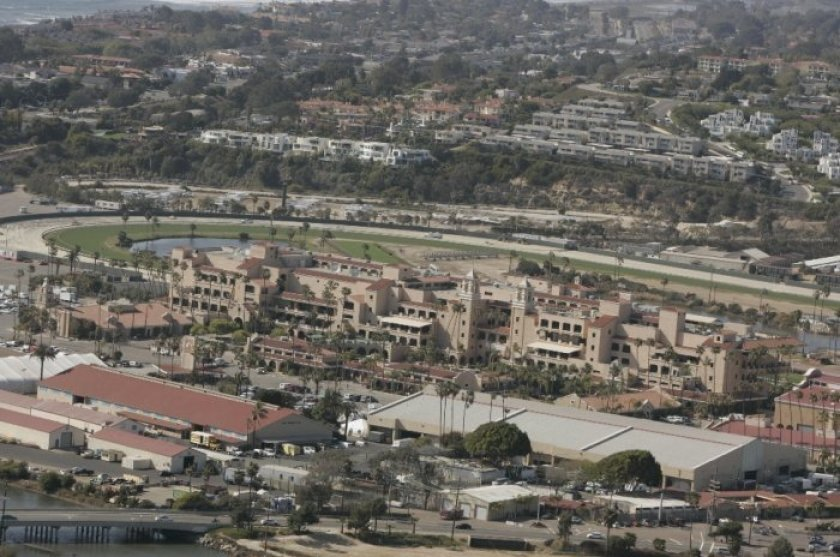 The Del Mar Fairgrounds