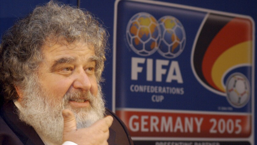 Chuck Blazer, the former general secretary of CONCACAF, attends a news conference in Frankfurt, Germany, in February 2005.