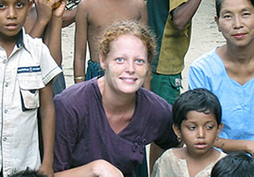 Kaci Hickox, the American nurse temporarily quarantined by New Jersey Gov. Christie's medically-ignorant policy; The Atlantic should be fighting such policies, not stoking them.