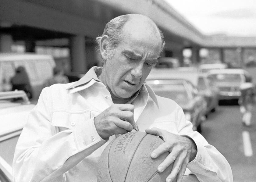 Jack Ramsay (1925-2014) -- An NBA coach before embarking on a career as an NBA analyst for ESPN.