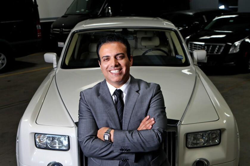 KLS Worldwide Chauffeur Services CEO Alex Darbahani has seen business drop 95% since the pandemic struck.