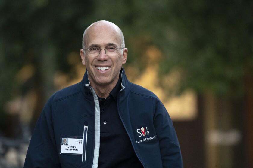 Quibi founder Jeffrey Katzenberg.