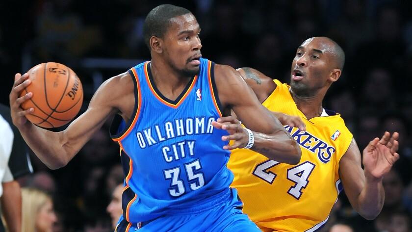 菜鳥期的KD?Kobe:毫無壓力!成長後的KD?Kobe:他是繼T-Mac後最難防之人!