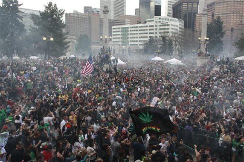 Three shot during Denver marijuana celebration