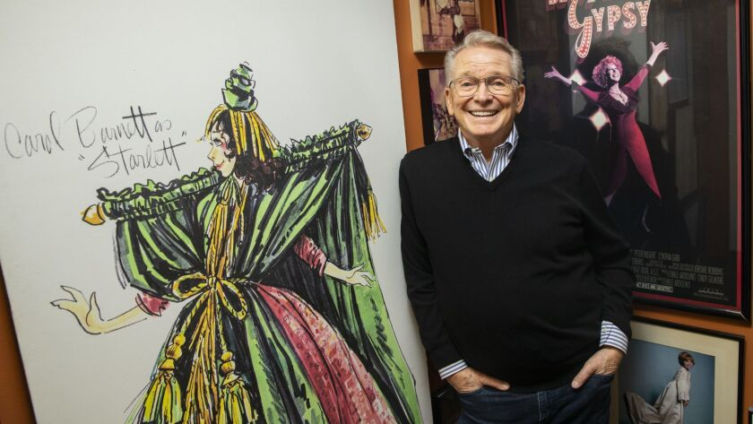 He S Dressed Cher And Carol Burnett But Now Bob Mackie Is Finally Getting His Own Star Turn Los Angeles Times