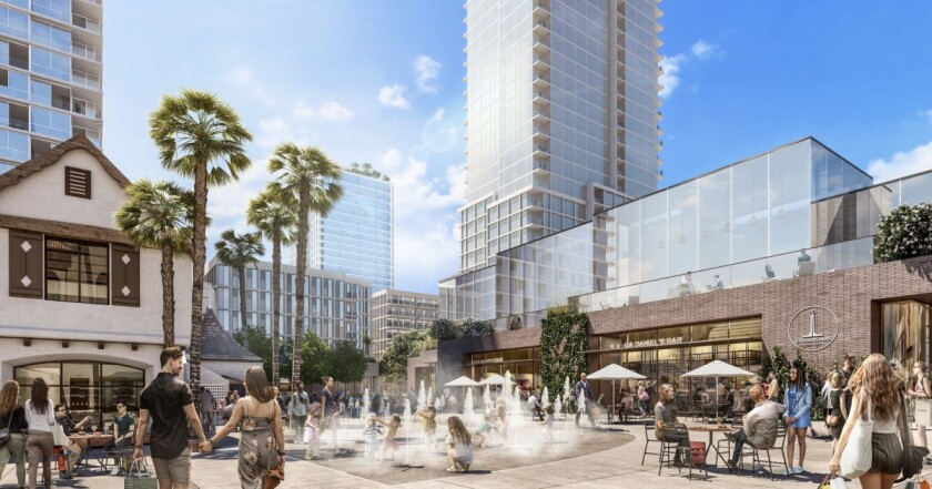 Crossroads Hollywood project rendering