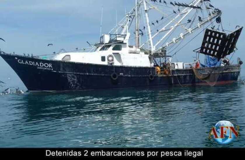 Detenidas 2 embarcaciones por pesca ilegal