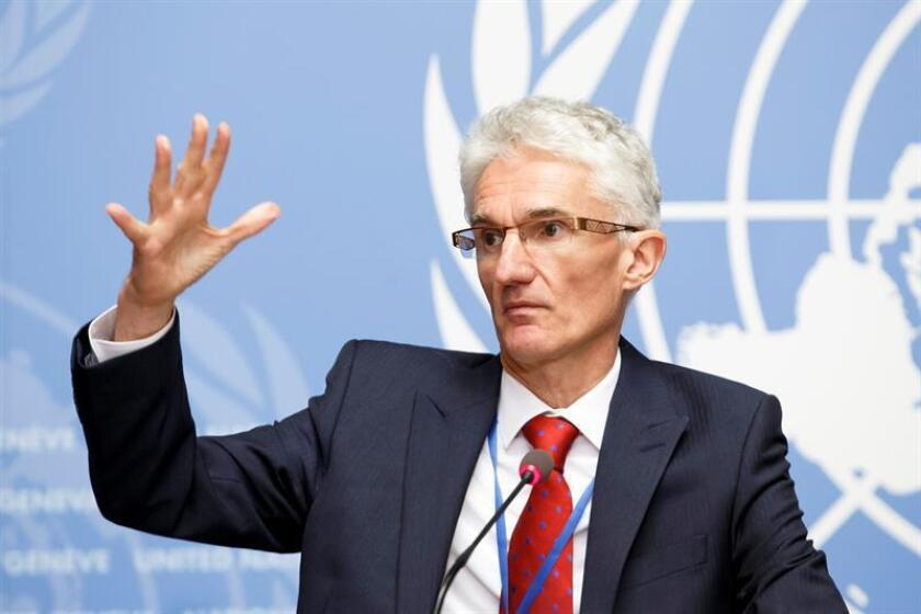 Mark Lowcock, UN Under-Secretary-General for Humanitarian Affairs and Emergency Relief Coordinator. EFE/EPA/FILE