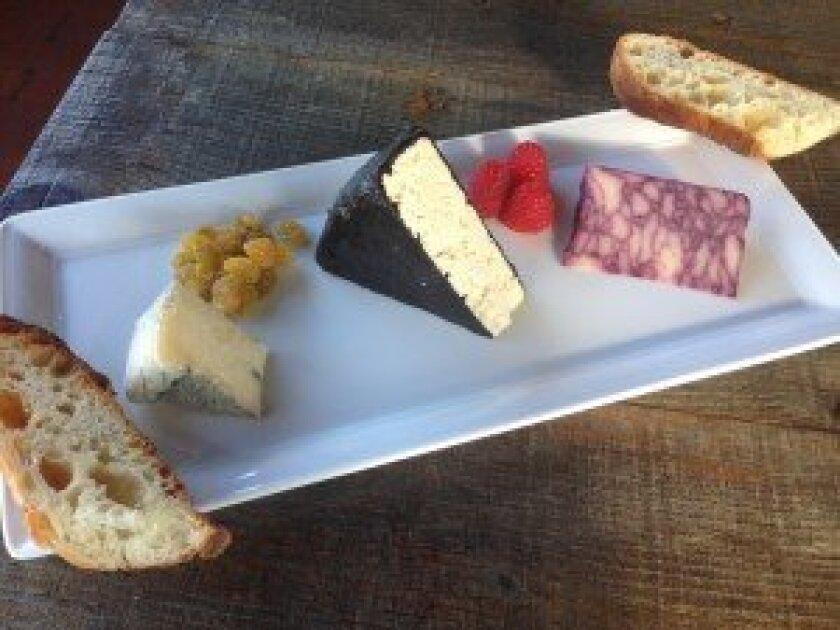 Cheese plate. Photo/Kristina Houck