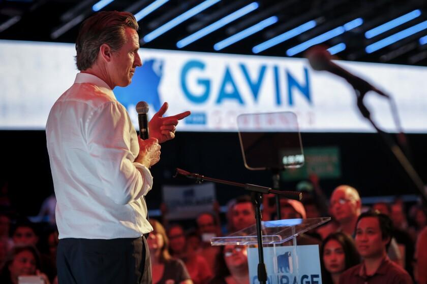 Gavin Newsom es la mejor opción para mantener al estado de California en la vanguardia de la defensa del medio ambiente, el desarrollo económico y el respeto de los derechos de los inmigrantes y otras minorías.
