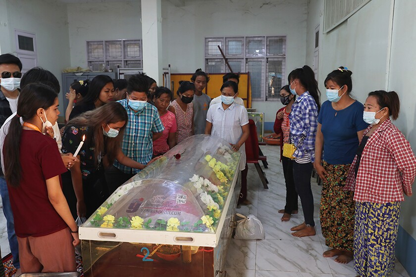 People mourn Kyal Sin