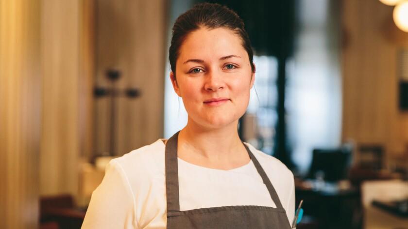 Chef Jessica Largey.