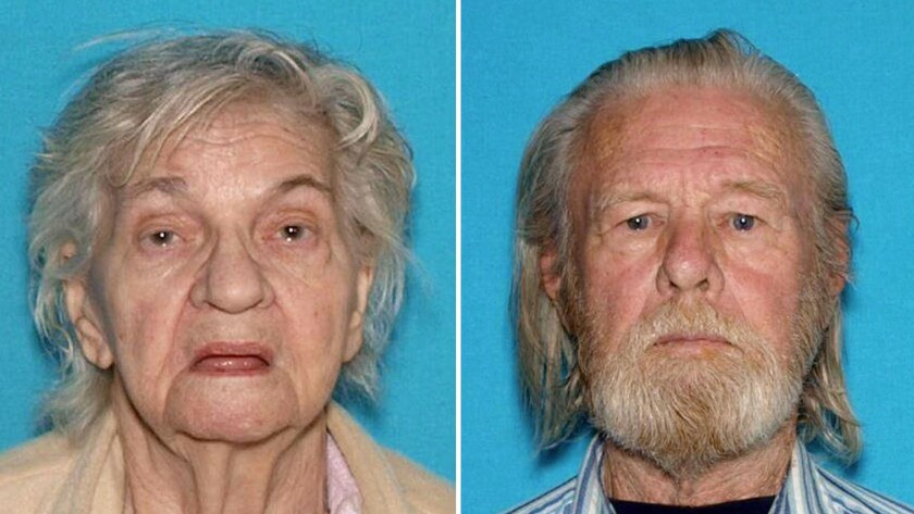 Deputies found Pauline Davis, who was taken to a hospital for treatment. The body of Keith Davis was found later that night in the desert in San Bernardino County.