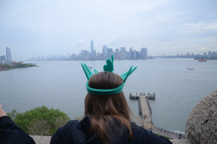 In 2015, about 4.3 million tourists visited the Statue of Liberty and the museum at the statue's base.