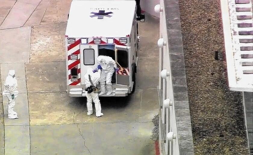 U.S. Ebola patient
