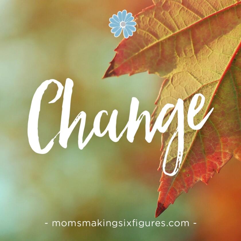 Change harvest leaf