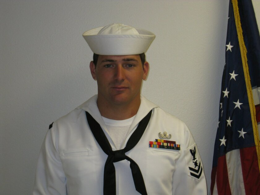 Navy Petty Officer 1st Class Chad Regelin