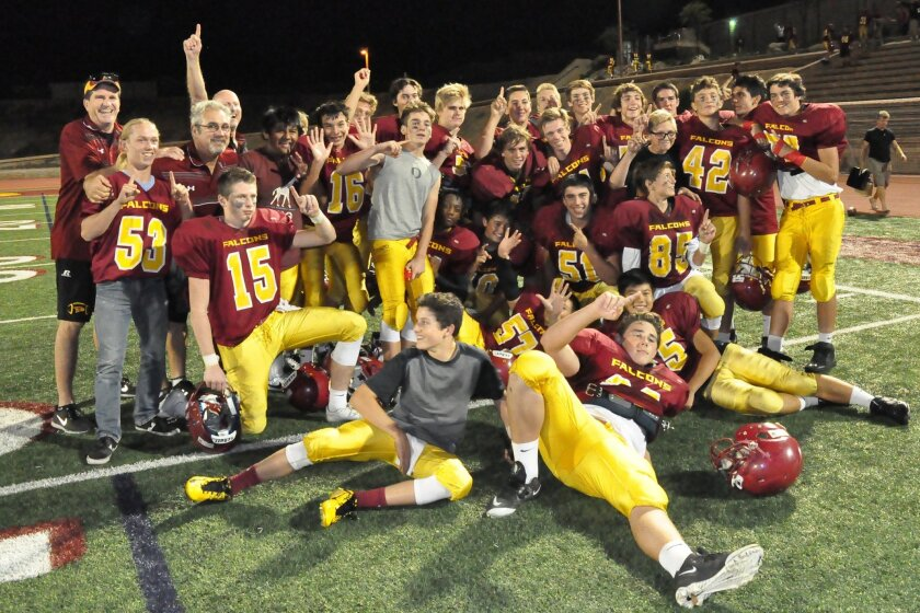 Torrey Pines Falcons complete a perfect season.