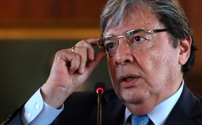 El ministro Relaciones Exteriores de Colombia, Carlos Holmes Trujillo. EFE/Archivo