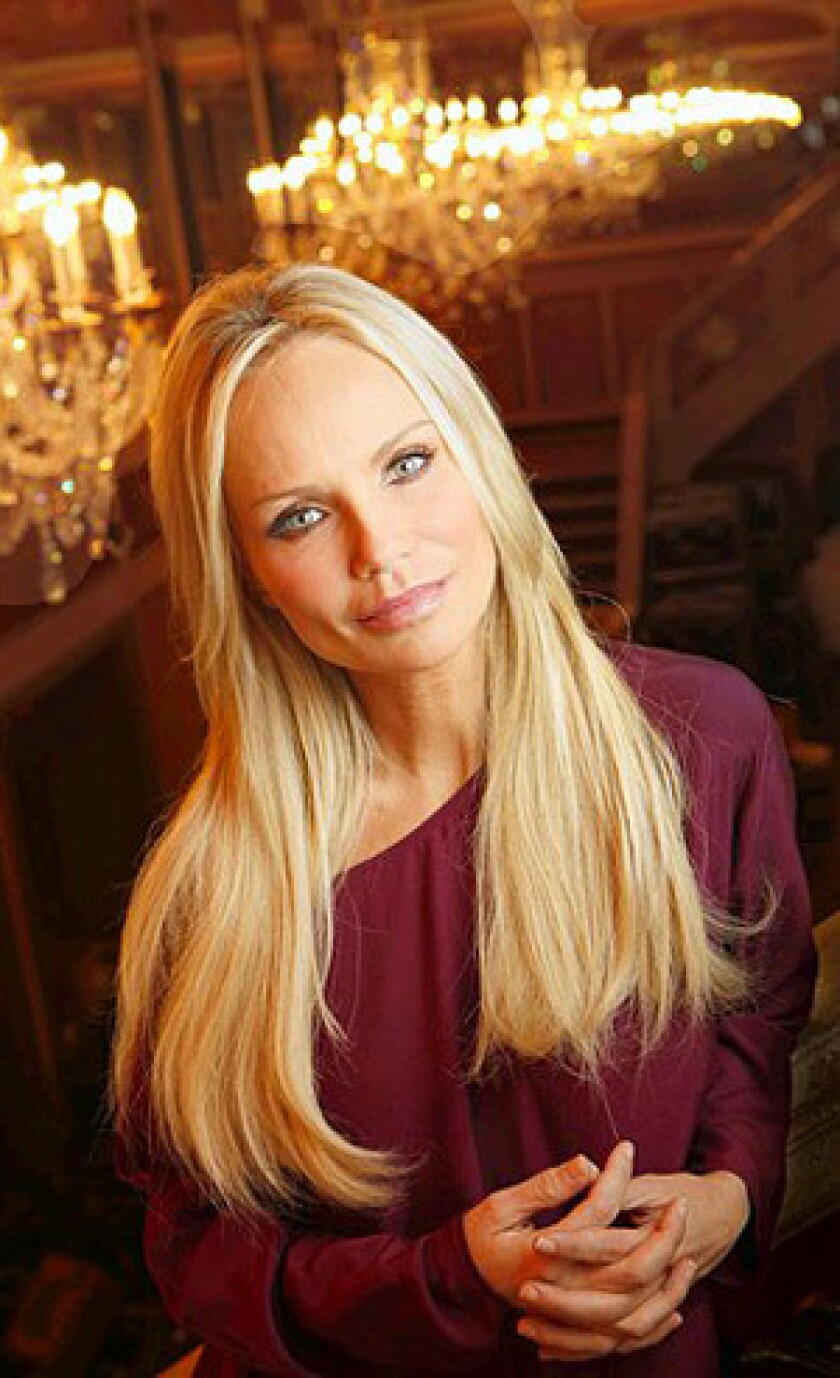 """Kristin Chenoweth returns to Broadway in the revival of the Bacharach-David musical """"Promises, Promises."""""""