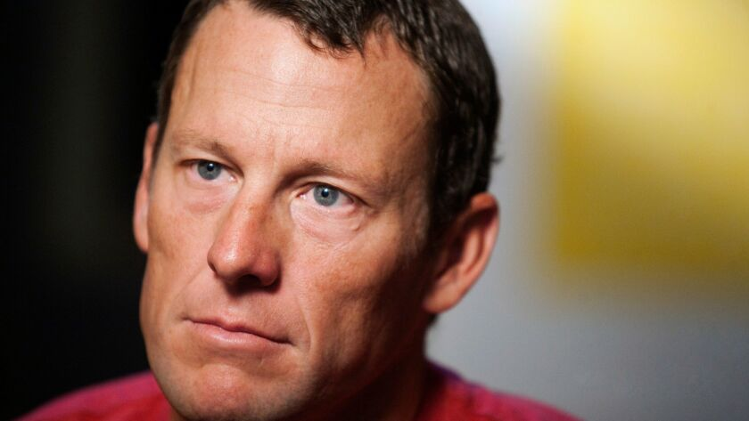Lance Armstrong reached a $5-million settlement with the federal government in a whistleblower lawsuit that could have sought $100 million in damages from the cyclist.